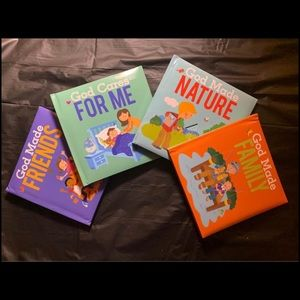 4 / $40 - 4 NEW God Made... Baby /Toddler Board Books -  B121